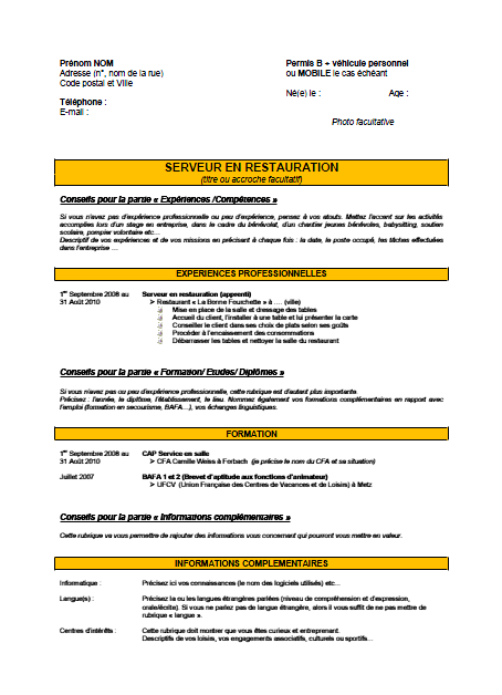 exemple d accroche cv pole emploi one cv